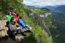 Вид на долину Гренобля особенно хорош с дельтапланерного старта