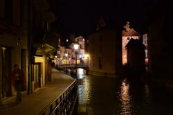 Ночные улицы Анси
