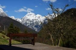 Волшебный вид на Юлианские Альпы