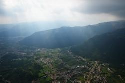 Бассано дель Граппа - одно из лучших парапланерных мест Италии