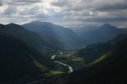 Долина Толмина в вечернем свете
