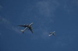 Залетные гости в Углово - репетиция парада ВМФ