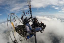 Эксклюзивная возможность паратрайка - полет над облаками