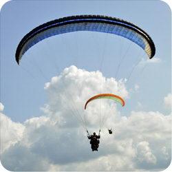 Полет с инструктором на параплане